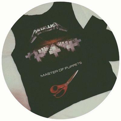 Ex-camiseta lol ✂ Cortei T -shirt Metallica Masterofpuppets