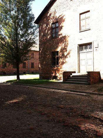 Window House Day Architecture No People Sky Auschwitz  😚