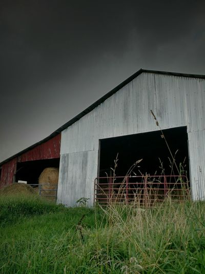 Newtalent Barns Rustic Stormy Weather Fine Art Photography Old Barns Summertime Haybales