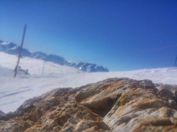 Rock Snow ❄ Alps France Skiing 🎿 Alp D'huaez