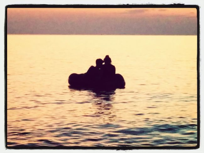Two Hearts Became One Sea And Sky TRUE LOVE ❤ Summertime ♥