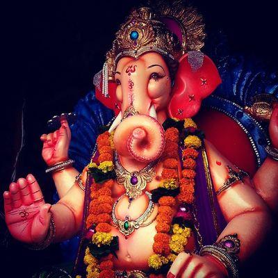 "Festival Happiiee B ""day Ganesha Ganesh Chaturthi Murti Enjoy Edited Galaxy Note-2 Click PicOfTheDay ...."