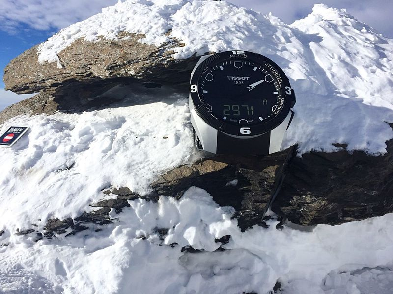 Europe Gstaad Alps Switzerland Peak Walk Glacier3000 Tissot Frozen Day Ice No People Outdoors Glacier Mountain Range Scenics Beauty In Nature Minute Hand Clock Sky Gauge