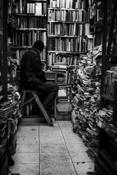 Bookshop Bookstore Library Library Room My Life Black And White Friday