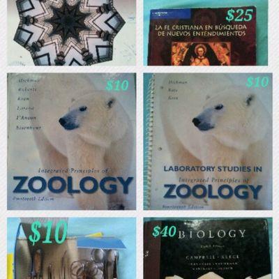 Tengo estos libros disponibles para la venta, muy útiles para estudiantes q estan comenzando el trimestre. Por favor si conocen a alguien q esté tomando estos cursos refieranle mi página. Gracias buen día.