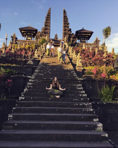 Add me on snapchat @luciaadina Enjoying Life Besakih Temple Bali, Indonesia