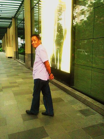 EyeEmNewHere Happiness Love Building Background Filters Man Smiling Face Greenbelt Makati