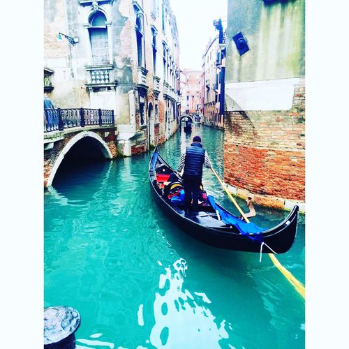 italy Gondola - Traditional Boat Architecture Cultures Cityunderwater Venice Canal Travel Destinations Gondolier Tourism Vacations Travel Gondola Men