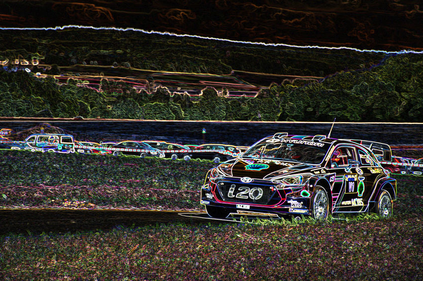Eifel-rallye-festival Rallye Car Hyundai Hyundai I20 Wrc Photo Art Rallye Speed Wrc