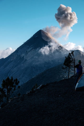 Acatenango Adventure Ash Beautiful Central America Eruption Explosion Fujifilm Fujifilm_xseries Geology Guatemala Hiking Mountain Nature Nature_collection Outdoors Peak Serenity Smoke Steep Traveling Trekking View Volcanic  Volcano