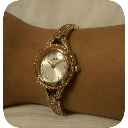 Look What I Got Today At Dillard's In The Jefferson Mall! 😍❤⌚❤😍 Dillards Guesswatch Wristwatch SmallWrist Nofilter