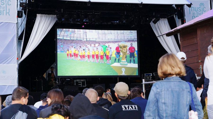 """Final world cup foot 2014 in Montreux Jazz festival !!! """" Sony Alpha 77 18-55mn Sports Photography Hello World Relaxing Lausanne Et Environ !! Everyday Joy Suisse  Live Music Hello World Live Cool Deutchland Argentina"""