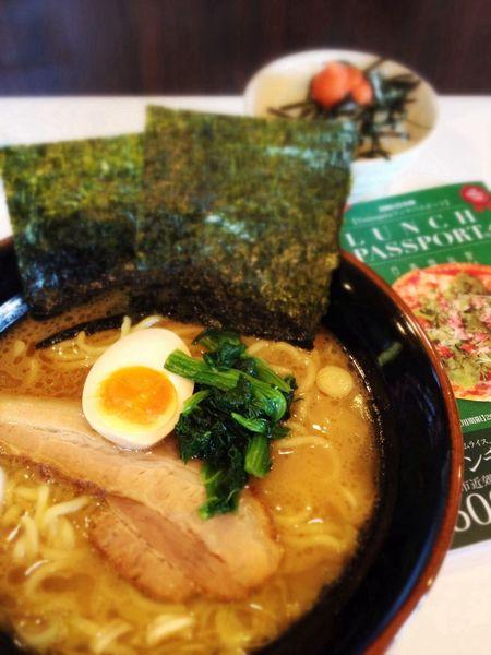 ラーメン+ミニ明太子丼750円→ランパスで500円♪ IPhoneography Lunch Passport Ramen