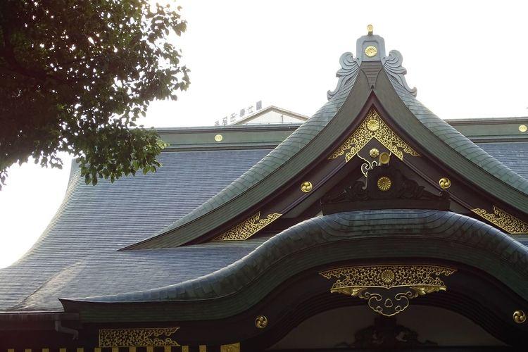 Tokyo Shinjuku Nishiwaseda Shrine Of Japan Shinto Shrine