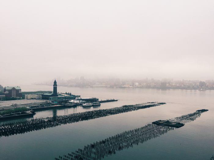 Morning Fog on the Hudson River