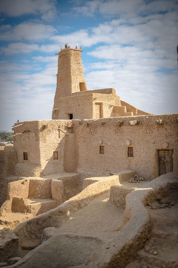 Ancient ruins in Siwa Oasis, Egypt Desert Egypt Rock Siwa Oasis Torist Travel Ancient Architecture Building Building Exterior Built Structure Cultures Door Egyptian Culture History Masjed  No People Oasis Old Old Buildings Old Masjid Oracle The Past Tourism Town