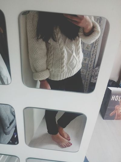 comfy day A L'aise Comfy  Sunday Posey Sweater