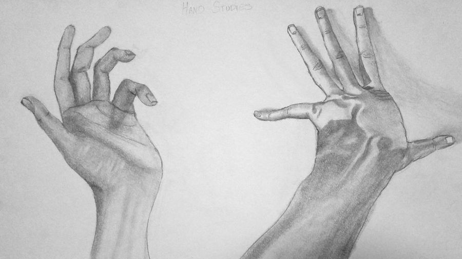 Hand Studies Drawingtime Art, Drawing, Creativity Art Student Shadows & Lights Passionate Artist Love Drawing Favorite Things  to draw! 7 Shades