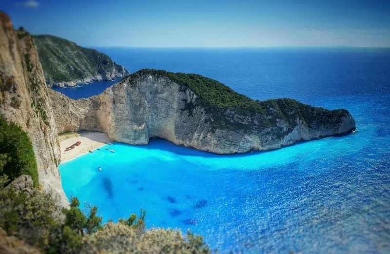 Navagio Beach Beach Travel Greek Islands Greece Shipwreck Sea Island Ionian Tourism Visit Greece Zakynthos Tourist Attraction  Shipwreck Cove Zante Landscape Europe Vacation Blue Sea Summer Holiday Navagio Travel Destinations Blue Cliffs