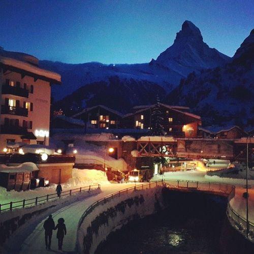 The mighty Mattahorn Switzerland Swissalps Zermatt Mattahorn
