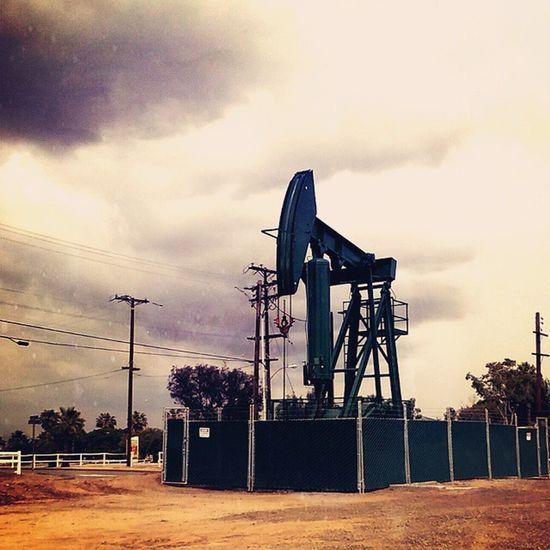 Long Beach oil things. Ihavethiscrazydesiretorideone Strangeobsession . Lb LBC . thingsyouseeinlongbeach