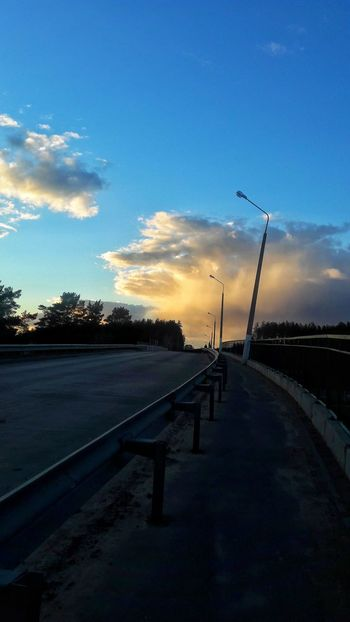 Railing Sunset Cloud - Sky The Way Forward Sky No People Outdoors Nature Day Vacations Tranquility Leisure Activity Full Length Friendship Beauty In Nature Standing Casual Clothing Childhood Sunlight Two People Children Only Girls Real People Togetherness City