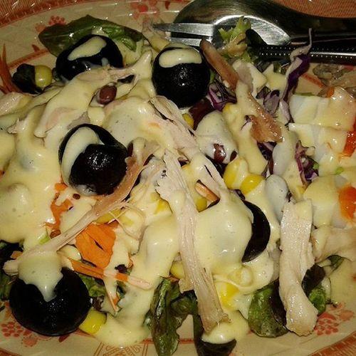 รักสุขภาพ หรือป่าว ผัก ผลไม้ ไข่ ไก่ ครีมสลัด ก้ออ้วนเหมือนเดิม55