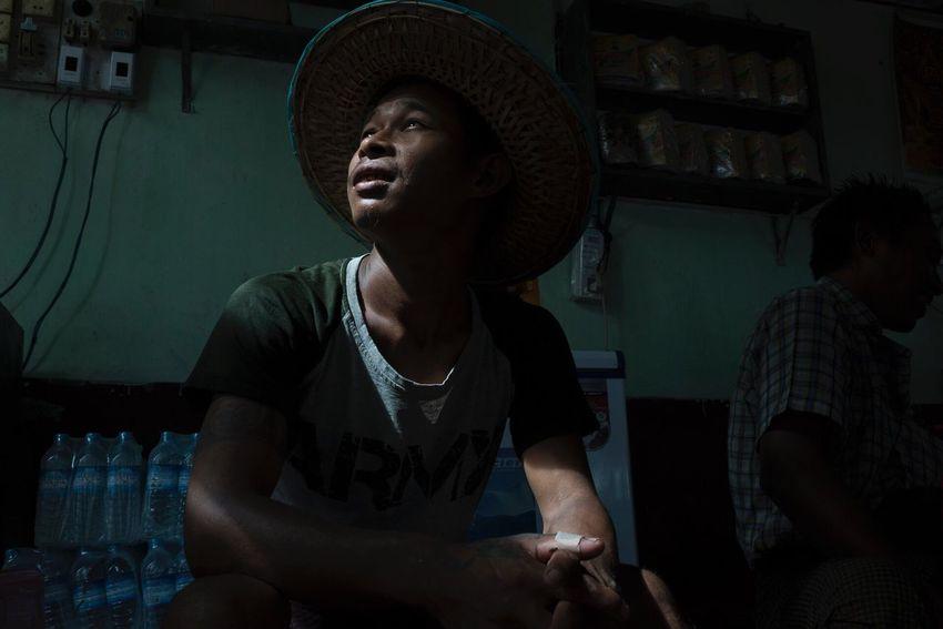 Portrait Street Photography Myanmar Real People