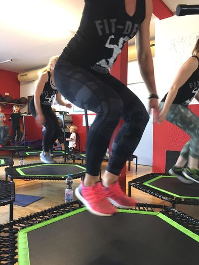 Lifestyles Healthy Lifestyle Sports Training Sports Clothing Real People Health Club Gym Sport Jumping