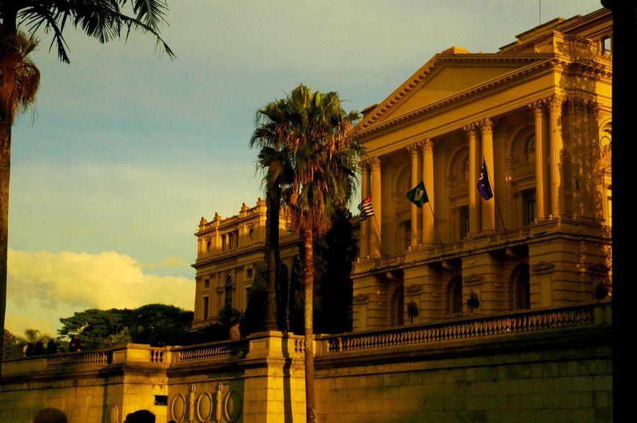 Historical City Museum Afternoon Museu Do Ipiranga