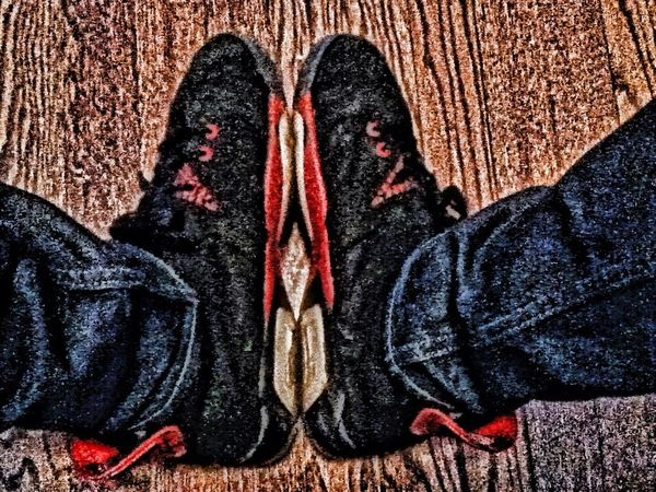 These old but My Jordan Retro 6's