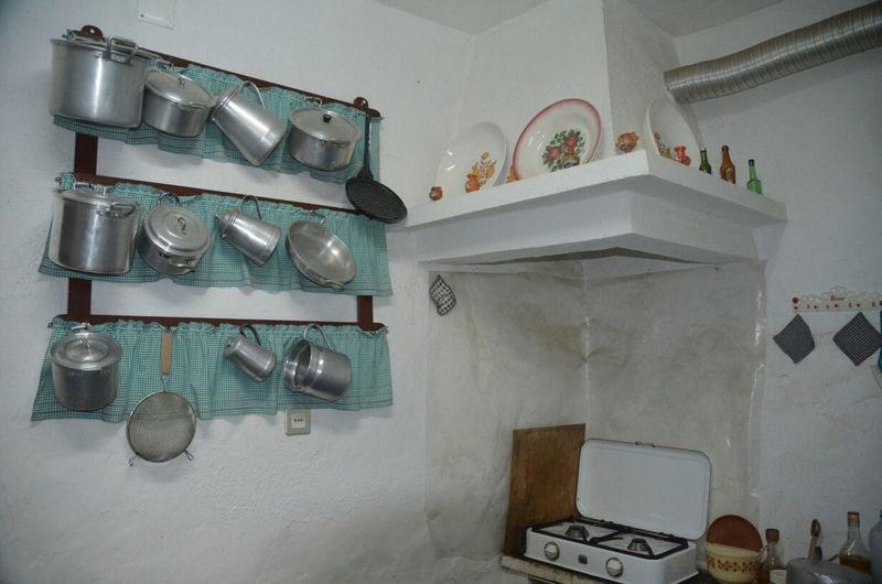 Cozinha à moda antiga
