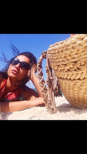 Boracay Philippines Beach White Sand Blue Sky Vecation Sunglasses Sunnyday☀️ Beachbag Beach Life Taning ☀