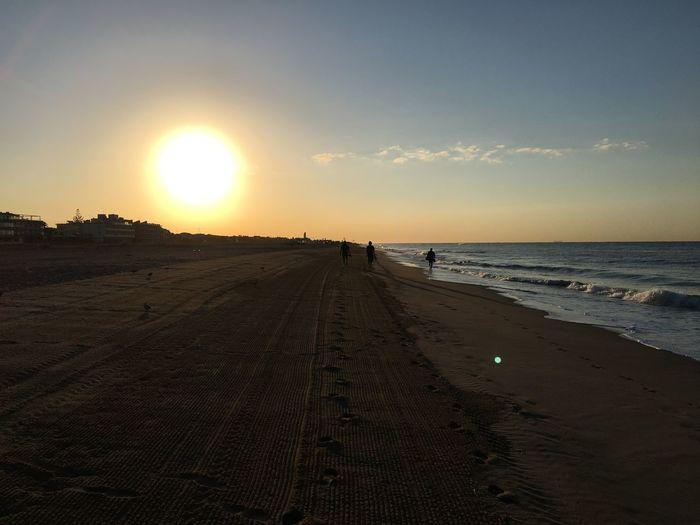 Alba Sky Land Sea Scenics - Nature Beach Water Sunlight Sand Horizon Over Water Outdoors Nature Sun Beauty In Nature EyeEmNewHere