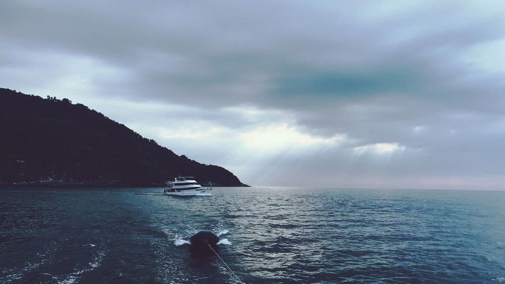 Sailing day Sea Water Sky Scenics Cloud - Sky Beauty In Nature Nature Tranquility Outdoors