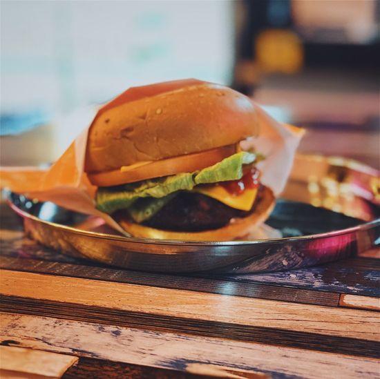 Cheese Burger Burger Hamburger Food And Drink Table Food Indoors  Unhealthy Eating Ready-to-eat Fast Food Bun Close-up