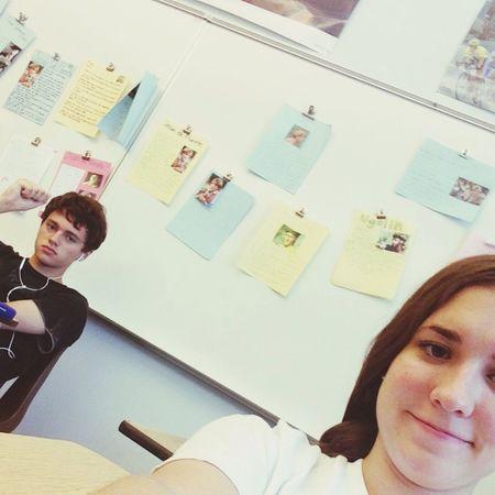 Nous avons fini avec la classe de français jusqu'à l'année prochaine Mercidieu Party Madameberger