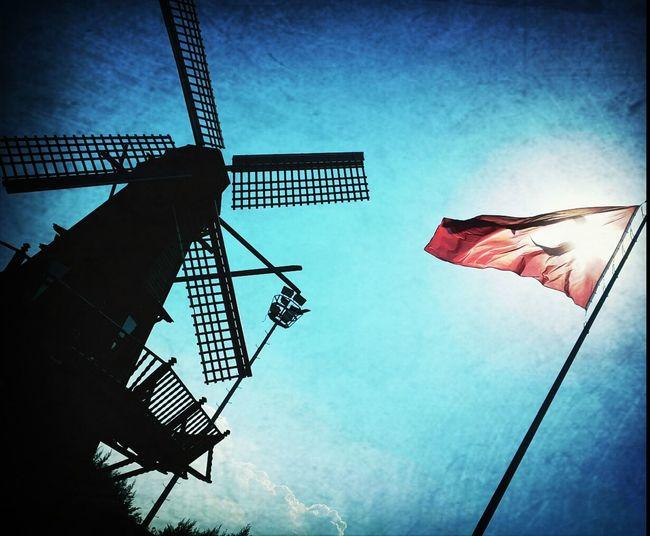 Sky Turkey Flag