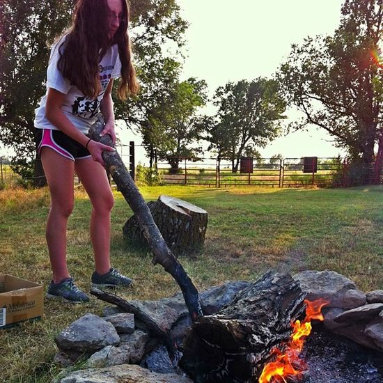 @megan_walters7, actually. Campfire Burn Sunset