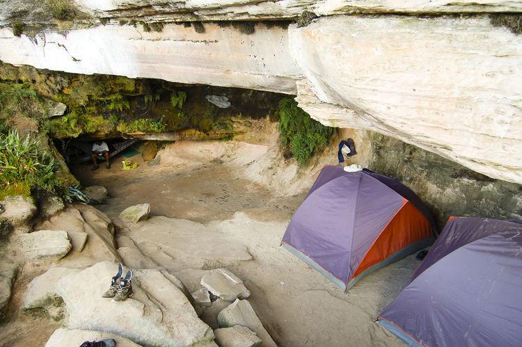 Camping Ground Camping Venezuela Mountain Nature Roraima Tepuy Camp