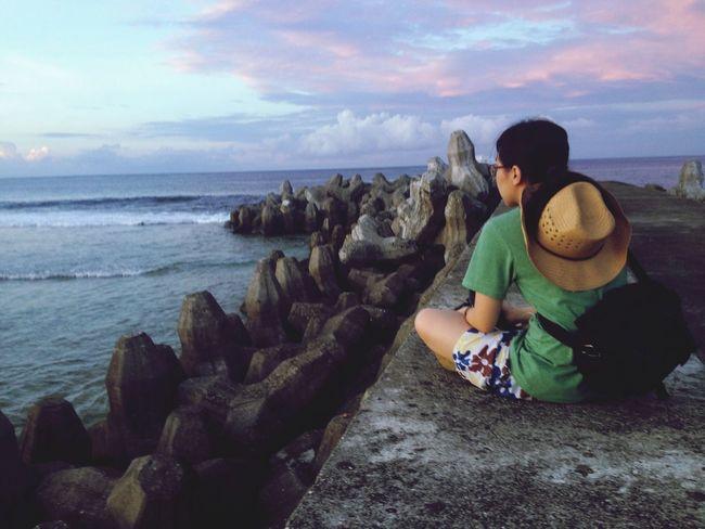 Sea Taking Photos Enjoying Life Winze's Life