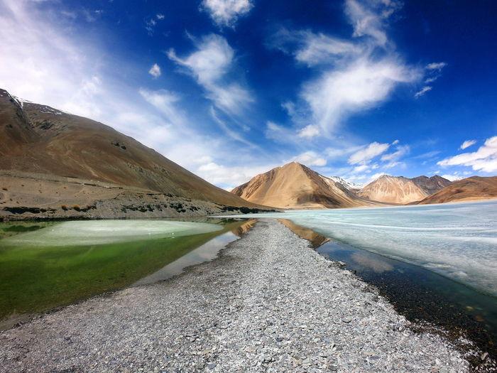 Pangong Lake in