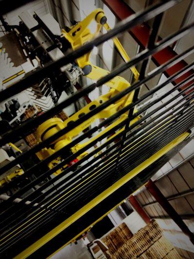 Robotics 'Merica Missouri 'Murica USA Adventure Club Industrial Yellow Arm Business Black And Yellow