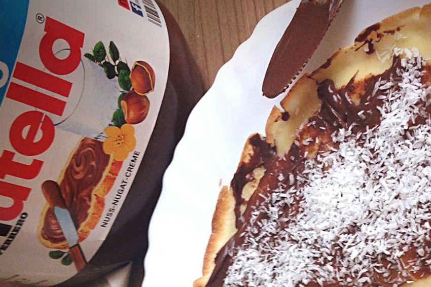 Crêpes Nutella Goûter Food