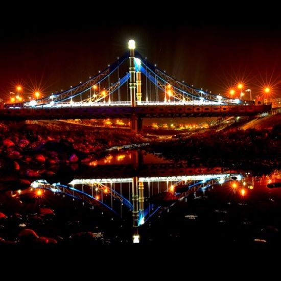 This Bridge Is Beautiful At Night