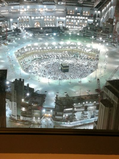 Kaaba view from room