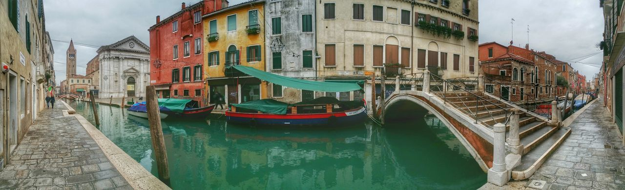 Showcase: January Venice, Italy Mobile Photography Art Fineart Panoramic Views Because The Cloudy Weather Does Not Make Venice Less Romantic