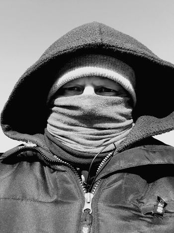 Jedi Jedimaster Cold Temperature Cold Days Cold Winter ❄⛄ Black And White Close-up One Person One Man Only