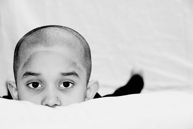 Baldhead Close-up Day People Real People Rituals And Belives Bald Is Beautiful Black And White Photography Close Up Photography Natural Smile Art Photography Artistic Expression Art Expression Beatiful Eyes