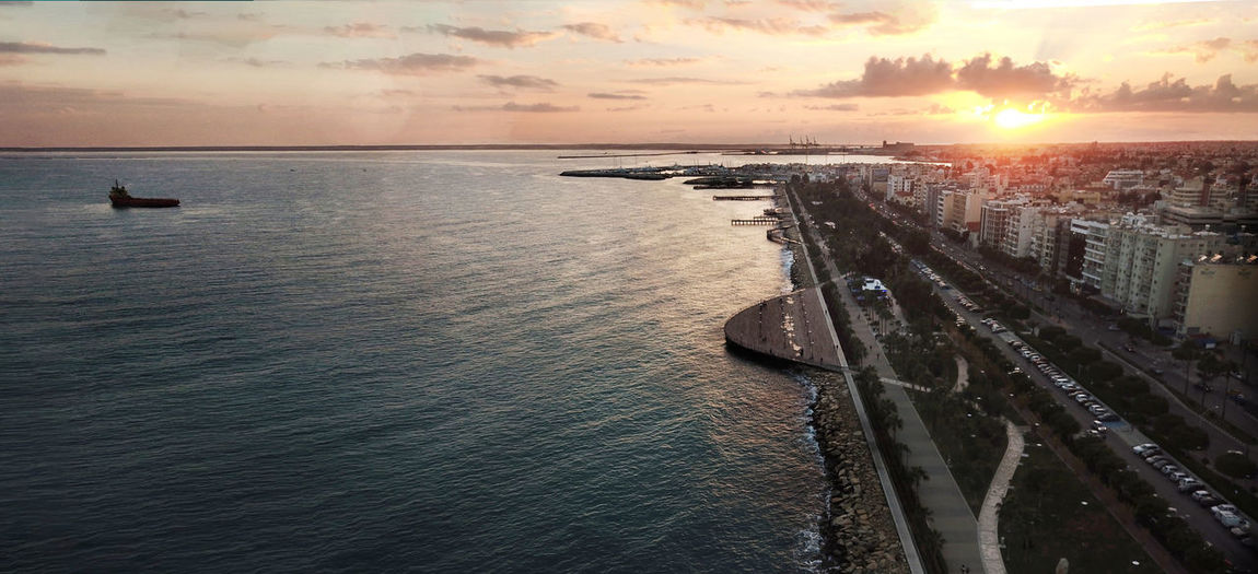 A wonderful day in Limassol, Cyprus! Cloud Cyprus Sunlight Sunset_collection Architecture Beauty In Nature City Cloud - Sky Clouds And Sky Day Horizon Over Water Jetty Limassol Nature Nautical Vessel Scenics Sea Sky Skyporn Sun Sunset Sunsets Tranquil Scene Travel Destinations Water